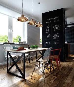 北欧风格公寓餐厅装修效果图