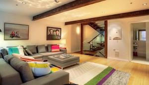 简约美式风格复式公寓装修效果图