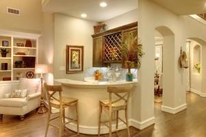简约风格90平方米二居室客厅设计效果图