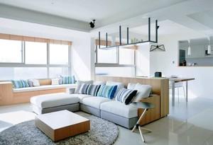 北欧110平方米整体客厅装修效果图