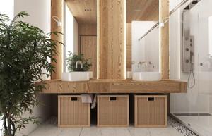 现代loft风格时尚前卫复式室内楼装修效果图