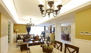 精致美式风格公寓装修效果图大全