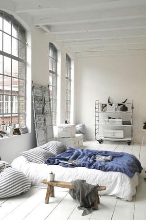 简约时尚女生卧室装修效果图