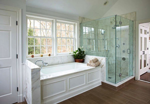 欧式风格200平米别墅整体卫生间设计效果图