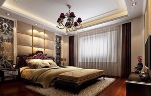美式风格大户型卧室装修效果图