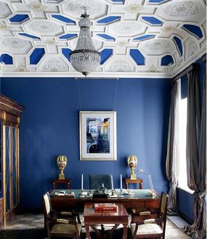 现代时尚奢华客厅吊顶装修效果图