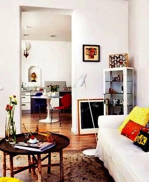 北欧风格公寓装修设计效果实景图