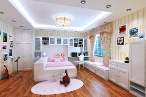 现代风格大户型儿童房装修效果图