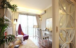 时尚欧式三居卧室装修效果图