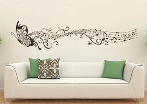 5平米宜家温馨舒适客厅墙贴装修效果图