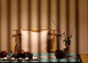 新中式风格茶馆装修效果图