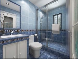 地中海风格小卫生间装修效果图