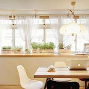 日式田园风格小户型飘窗装修效果图