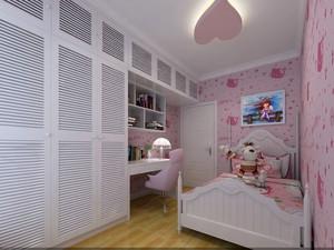 现代风格卡通儿童房装修效果图