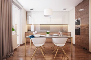 现代温馨舒适两室一厅室内装修效果图赏析