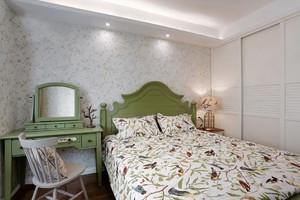 简约美式风格精装公寓装修效果图