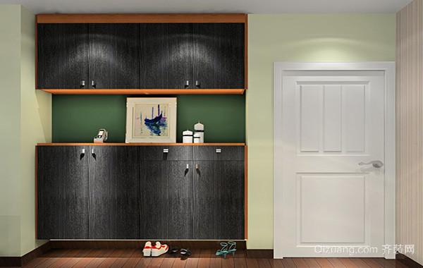 欧式风格110平米鞋柜装修效果图