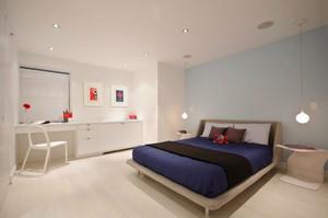 现代简约风格90平米复式室内楼装修效果图赏析