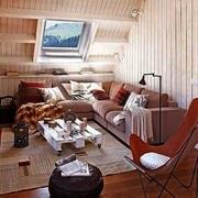 欧式风格三居室阁楼装修设计图