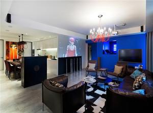 摩登现代公寓装修效果图