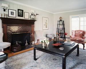 大户型时尚混搭风格客厅设计效果图实例