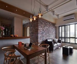 简约loft风格客厅装修效果图