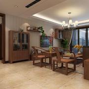 全新中式风格特色客厅装修效果图