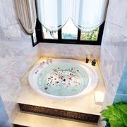 100平米简欧风格卫生间装修效果图