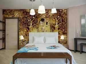 5平米现代卧室背景装修效果图赏析