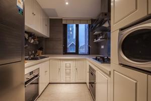 现代简约复式公寓装修效果图