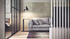 40平米简约风格男生单身公寓装修效果图赏析