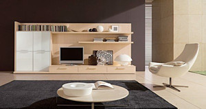 大户型现代简约风格时尚客厅电视背景墙装修效果图