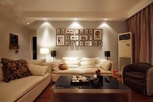 简欧风格客厅背景墙装修效果图