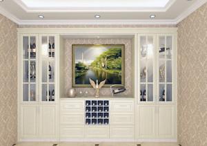 小户型欧式风格酒柜设计效果图