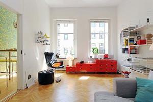 50平米都市简约明亮公寓装修效果图赏析