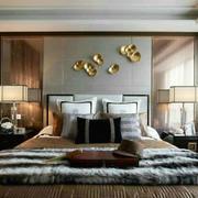 简约时尚整体卧室装修效果图