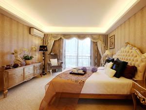 100平米时尚简欧精致卧室装修效果图
