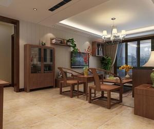 100平米中式典雅客厅装修图片欣赏
