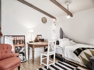 北欧一居室装修效果图