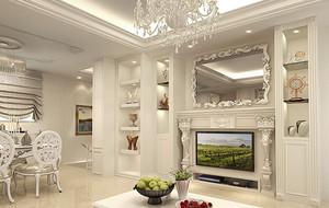 精致新古典风格别墅装修效果图