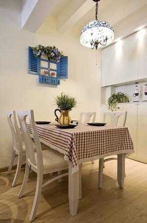 90平米温馨地中海风格公寓装修效果图