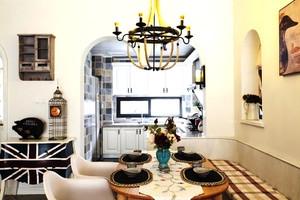 混搭风格大户型厨房装修设计