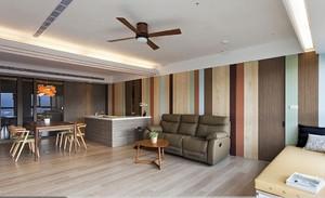 90平米混搭客厅吊顶设计效果图