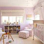 10平米简欧风格粉色主题儿童房装修效果图