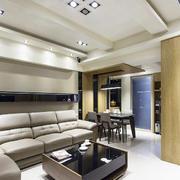 大户型极简主义风格精致客厅装修效果图