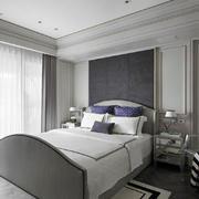 简欧风格大户型精致室内卧室装修效果图赏析