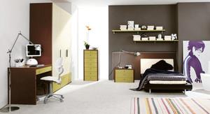 三居室现代风格时尚创意男生儿童房装修效果图