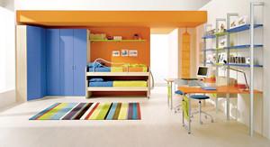 110平米三居室时尚创意儿童房设计效果图赏析