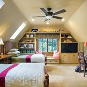 大户型东南亚风格卧室装修效果图