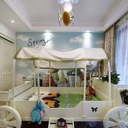 小户型美式混搭儿童房装修效果图